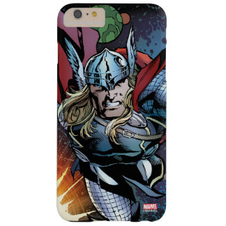 Thor Flying Through Space Comic Panel Barely There iPhone 6 Plus Case