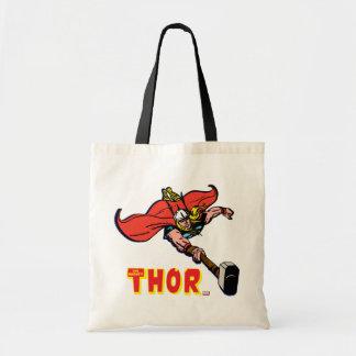 Thor Flying With Mjolnir