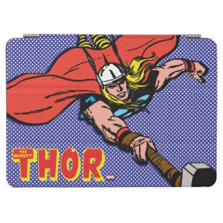 Thor Flying With Mjolnir iPad Air Cover