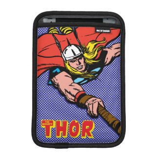 Thor Flying With Mjolnir iPad Mini Sleeve