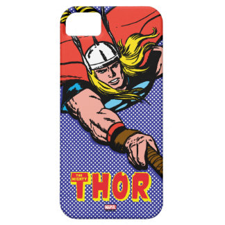 Thor Flying With Mjolnir iPhone 5 Covers