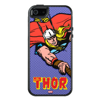 Thor Flying With Mjolnir OtterBox iPhone 5/5s/SE Case