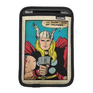 "Thor ""God of Thunder"" Comic Panel iPad Mini Sleeve"