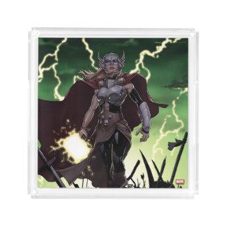 Thor Over Slain Enemies Acrylic Tray