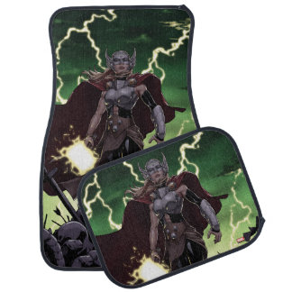 Thor Over Slain Enemies Car Mat