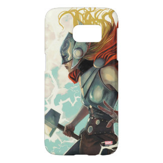 Thor Profile With Mjolnir