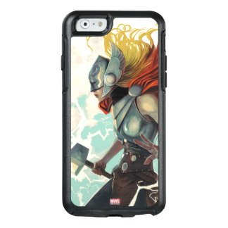 Thor Profile With Mjolnir OtterBox iPhone 6/6s Case
