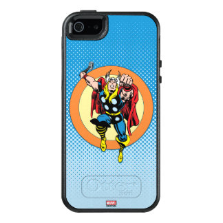 Thor Punch Attack Retro Graphic OtterBox iPhone 5/5s/SE Case