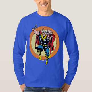 Thor Punch Attack Retro Graphic T-Shirt