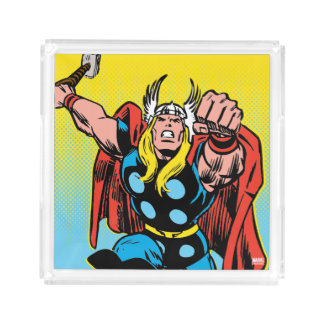 Thor Punching Attack Acrylic Tray