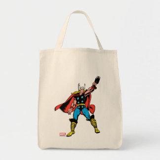 Thor Raising Mjolnir