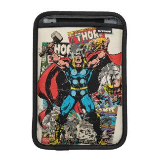 Thor Retro Comic Collage iPad Mini Sleeve