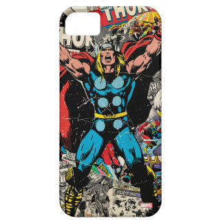 Thor Retro Comic Collage iPhone 5 Cover