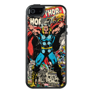 Thor Retro Comic Collage OtterBox iPhone 5/5s/SE Case