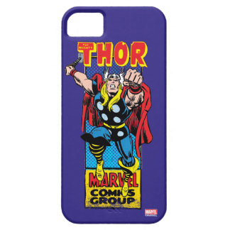 Thor Retro Comic Graphic iPhone 5 Cover