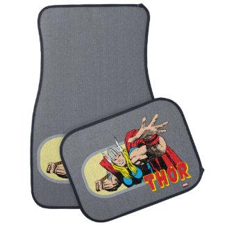 Thor Retro Graphic Car Mat
