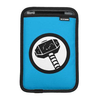 Thor Retro Hammer Icon iPad Mini Sleeve