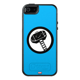 Thor Retro Hammer Icon OtterBox iPhone 5/5s/SE Case