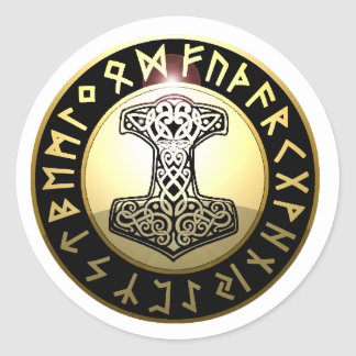 Thor s Hammer Sticker