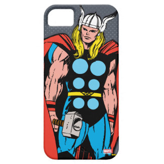 Thor Standing Tall Retro Comic Art Barely There iPhone 5 Case