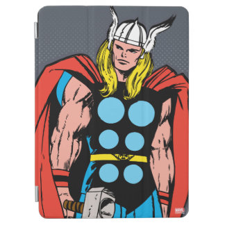 Thor Standing Tall Retro Comic Art iPad Air Cover