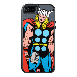 Thor Standing Tall Retro Comic Art OtterBox iPhone 5/5s/SE Case