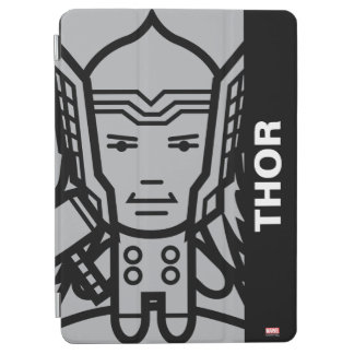 Thor Stylized Line Art iPad Air Cover