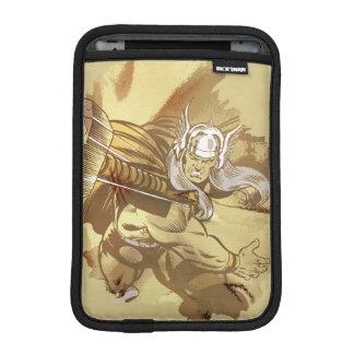 Thor Throwing Mjolnir iPad Mini Sleeve