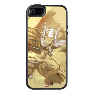 Thor Throwing Mjolnir OtterBox iPhone 5/5s/SE Case