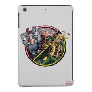 Thor Versus Loki iPad Mini Covers