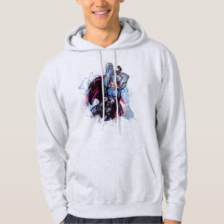 Thor Watercolor Character Graphic Hoodie