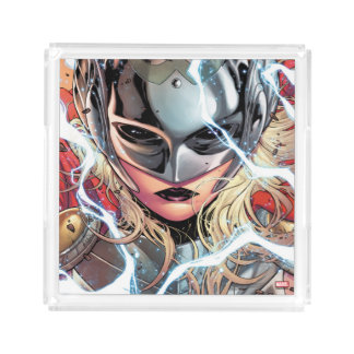 Thor With Lightning Acrylic Tray