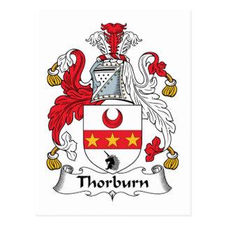 Thorburn Family Crest Postcard