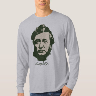 thoreau2-grn-LTT T-Shirt