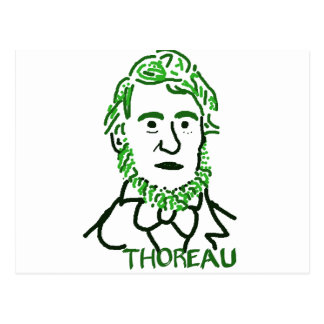 Thoreau-ly Green Postcard