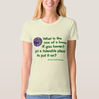 Thoreau on Conservation T-Shirt