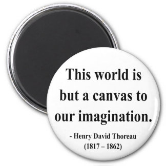 Thoreau Quote 3a Magnet