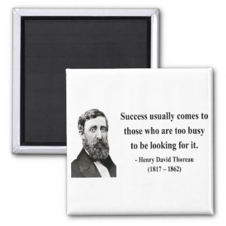 Thoreau Quote 7b Magnet