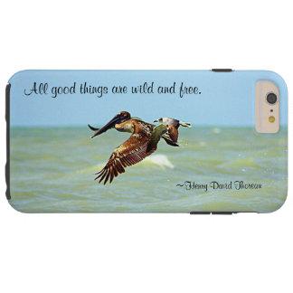 Thoreau Quote iPhone 6 Plus Case