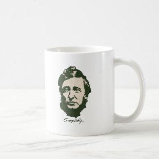 Thoreau - Simplify Mug