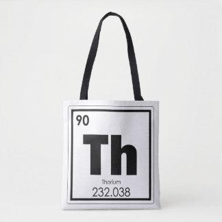 Thorium chemical element symbol chemistry formula tote bag