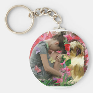 thorn in your rose keychain