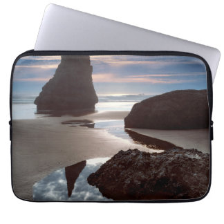 Thorn-Shaped seastack | Face Rock Wayside, OR Laptop Sleeve