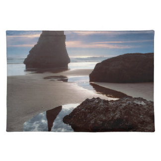 Thorn-Shaped seastack   Face Rock Wayside, OR Placemat