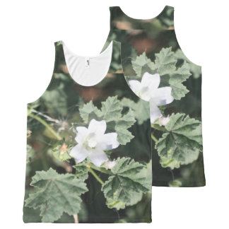 Thorney White Wildflower All-Over Print Tank Top