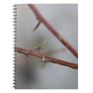 Thorns Spiral Notebook