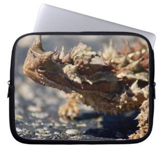 "Thorny Devil Lizard, Outback Australia, 10"" Photo Laptop Sleeves"
