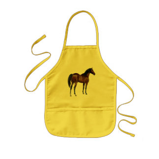 Thoroughbred horse apron
