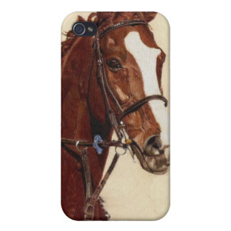 Thoroughbred Horse Art 4 4S  iPhone 4 Cover