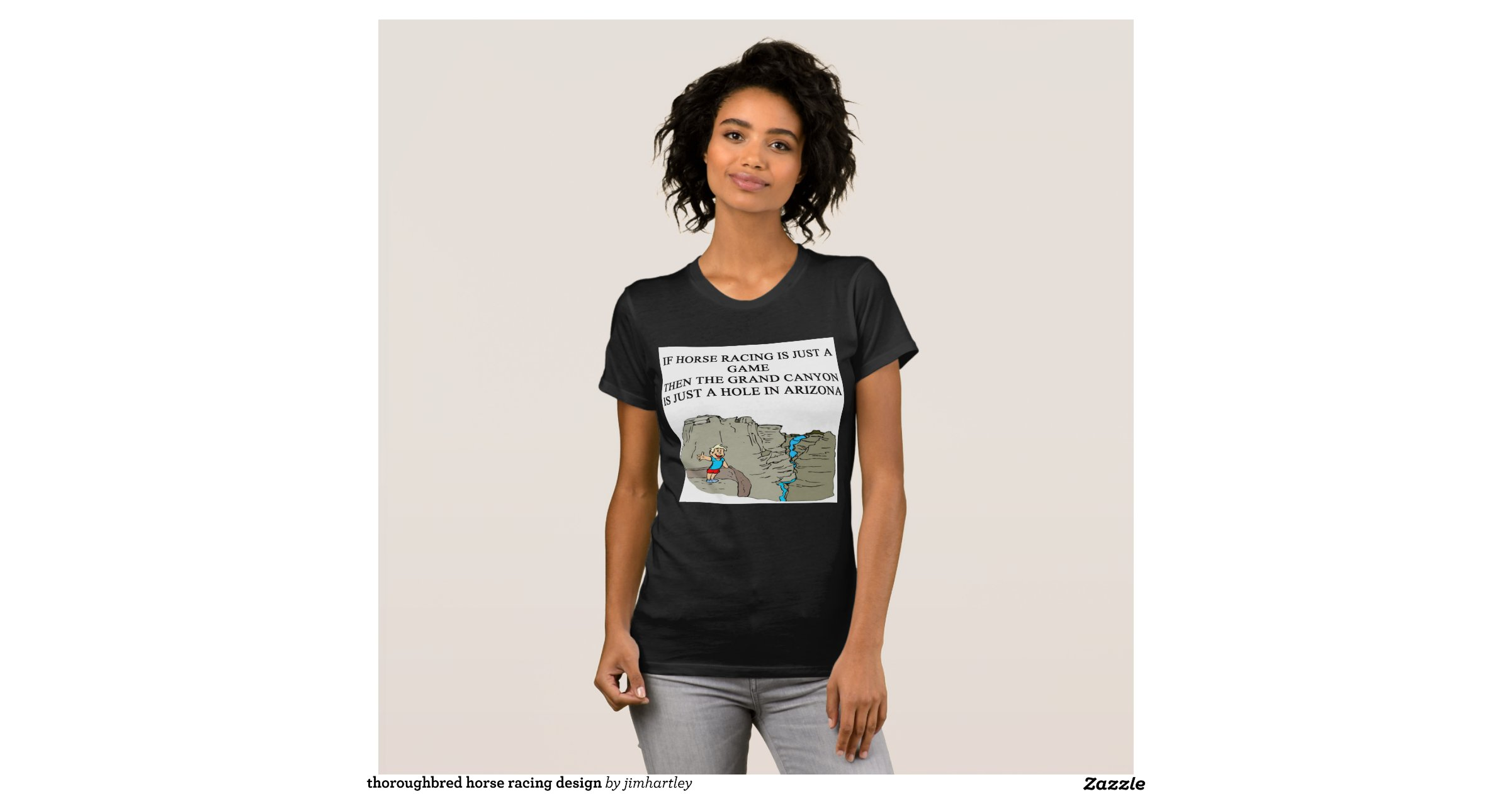 Thoroughbred Horse Racing Design T Shirts Zazzle